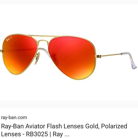f6c4cab26e54 Rayban aviators with red mirrored lenses. M 5adfbd9884b5ceeca36deb23